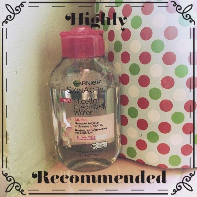 Garnier Skin Skinactive Micellar Cleansing Water All-In-1 Cleanser and Waterproof Makeup Remover uploaded by Xiomara Y.