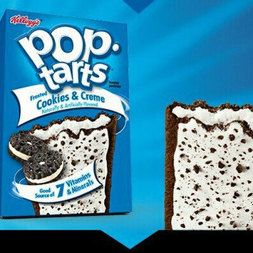 Photo of Kellogg's Pop-Tarts Frosted Cookies & Cream Toaster Pastries uploaded by Jennifer I.
