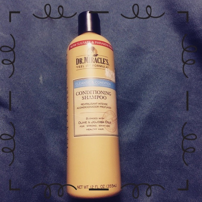 Dr. Miracle's Cleanse and Condition Conditioning Shampoo