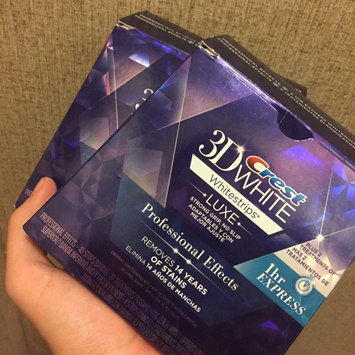 Photo of Crest 3D White Whitestrips 1-hour Express Teeth Whitening Kit uploaded by Diego D.