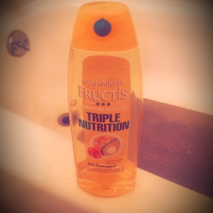 Garnier Fructis Haircare Triple Nutrition Extra Nourishing Cream Fortifying Shampoo uploaded by Praise G.