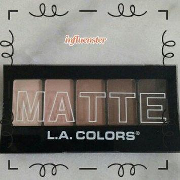 Photo of L.A. Girl L.A. Colors Matte Eyeshadow - Tan Khaki uploaded by Joan S.