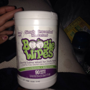 Photo of Boogie Wipes Gentle Saline Wipes For Stuffy Noses - 90 CT uploaded by Alexandra R.