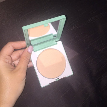 Photo of Clinique Stay-Matte Sheer Pressed Powder uploaded by Brittney D.