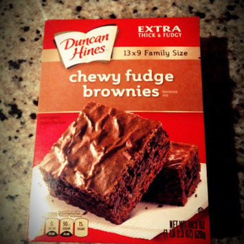 Photo of Duncan Hines Extra Thick & Fudgy Brownie Mix Chewy Fudge Family Size uploaded by Michelle Y.