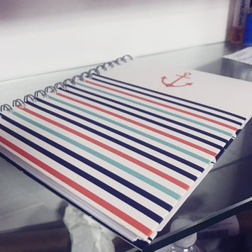 Class Act Stationery 3-Subject Fashion Notebook, Set Sail uploaded by Alli S.