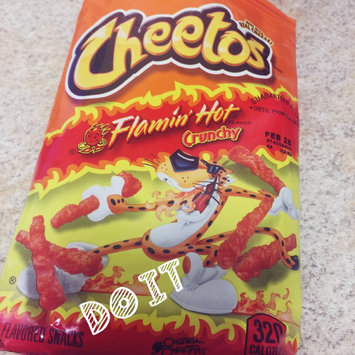 Cheetos Flamin' Hot Crunchy Cheese Flavored Snacks uploaded by Diana F.