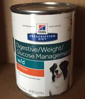 Hill's Prescription Diet Hill'sA Prescription DietA w/d Low Fat Diabetic Gastrointestinal Adult Dog Food uploaded by Tawny F.