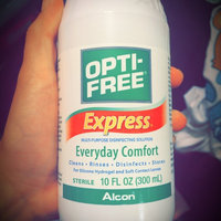 OPTI-FREE® Express® Multi-Purpose Contact Lens Solution uploaded by Jane R.