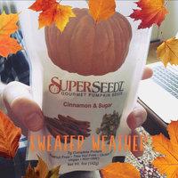 SuperSeedz Gourmet Pumpkin Seeds Cinnamon & Sugar uploaded by Bailie H.
