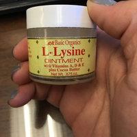 Basic Organics - L-Lysine Ointment - 0.88 oz. uploaded by Marissa V.