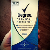 Degree Women® Clinical Protection® Active Clean Anti-Perspirant & Deodorant uploaded by Jennifer V.