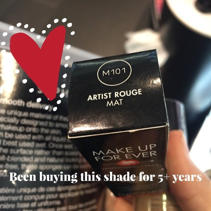 MAKE UP FOR EVER Artist Rouge Lipstick Collection uploaded by Alyssa N.