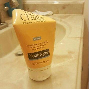 Neutrogena Deep Clean Cream Cleanser uploaded by Leijai H.
