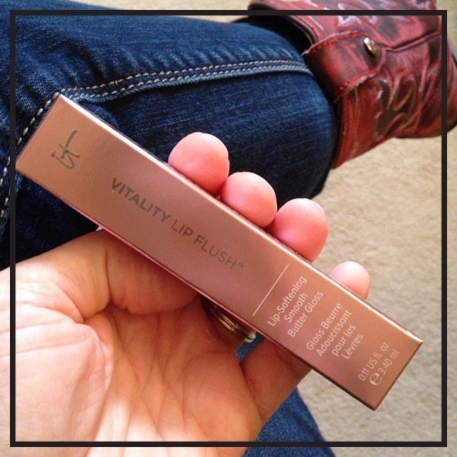 It Cosmetics Vitality Lip Flush Gloss uploaded by Kendra N.