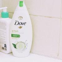 Dove Go Fresh Cool Moisture Cucumber & Green Tea Body Wash uploaded by Ashley G.