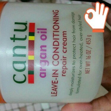 Cantu Argan Oil Leave In Conditioning Repair Cream uploaded by Zari G.