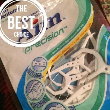 Photo of Aim Toothpaste Aim 50 ct Floss Picks Nylon Thread (Pack of 12) uploaded by Tonji B.
