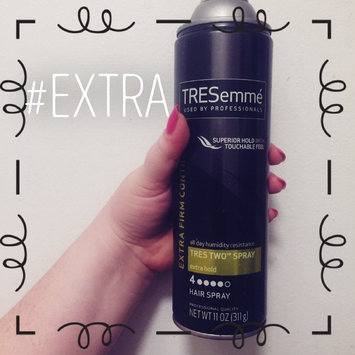Photo of TRESemmé Tres Two Extra Hold Hair Spray uploaded by Shelby B.