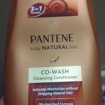 Photo of Pantene Pro-V Truly Natural Co-Wash Cleansing Conditioner uploaded by Rena M.