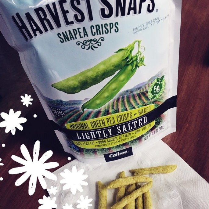 Harvest Snaps Snapea Crisps Lightly Salted uploaded by Danielle R.