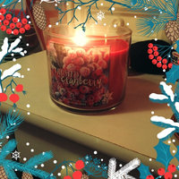 Bath & Body Works Frosted Cranberry 3 Wick Scented Candle uploaded by Courtney H.