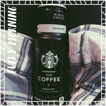 Photo of Starbucks® Black Unsweetened Iced Coffee uploaded by Hali T.