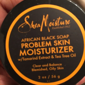 SheaMoisture African Black Soap Problem Skin Moisturizer uploaded by Alexa D.