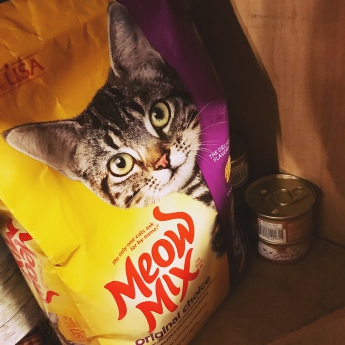 Meow Mix Original Choice Cat Food uploaded by shelby s.