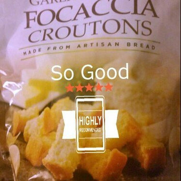 Photo of Mrs. Cubbison's® Garlic & Butter Focaccia Croutons 4 oz. Pouch uploaded by Brittiny A.
