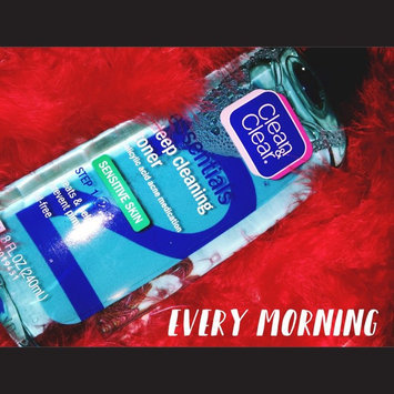 Clean & Clear ESSENTIALS Deep Cleaning Toner For Sensitive Skin uploaded by Brittany C.