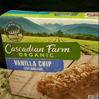 Cascadian Farm Organic Vanilla Chip Chewy Granola Bars - 6 CT uploaded by Jasmine B.