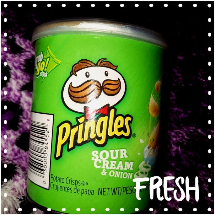 Pringles Potato Crisps Sour Cream & Onion uploaded by Lesley D.