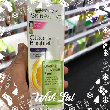 Photo of Garnier Skinactive Clearly Brighter Overnight Leave-on Peel uploaded by Grizette M.