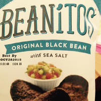 Beanitos Original Black Bean with Sea Salt Chips uploaded by Cherokee C.