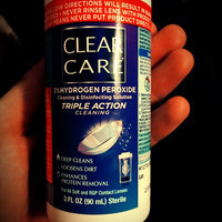 Clear Care 3% Hydrogen Peroxide Cleaning & Disinfecting Solution Travel Pack uploaded by Molly G.