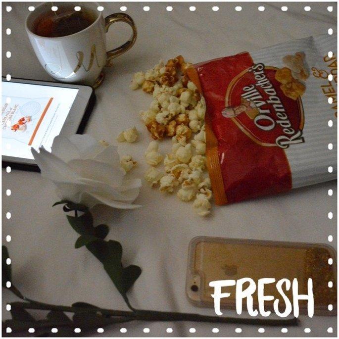 Orville Redenbacher's Caramel White Cheddar Popcorn uploaded by Yuneidi Q.