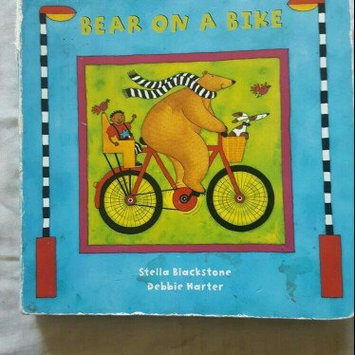 Photo of Bear on a Bike (A Barefoot Board Book) uploaded by Julie F.