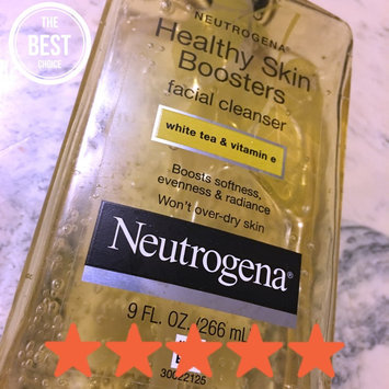 Photo of Neutrogena® Healthy Skin Boosters Facial Cleanser uploaded by Katherine A.