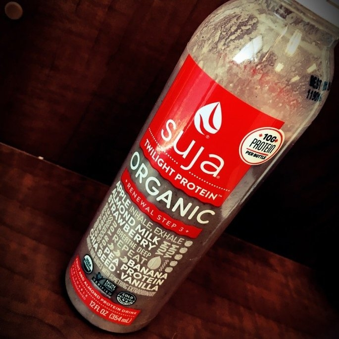 Suja® Organic Twilight Protein™ Juice Smoothie 10.5 fl. oz. Bottle uploaded by Carolyn H.