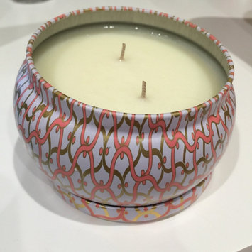 Photo of Voluspa Maison Blanc Saijo Persimmon 2 Wick Printed Tin Candle uploaded by Peach Island O.