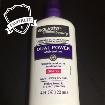 Photo of Equate Beauty Equate Dual Power Moisturizer, 4 fl oz uploaded by Katherine S.