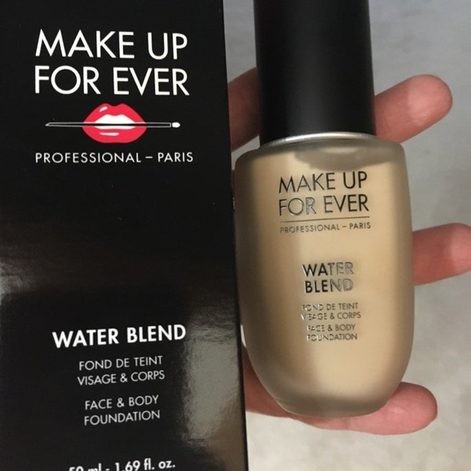 MAKE UP FOR EVER Water Blend Face & Body Foundation uploaded by Anna D.