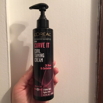 L'Oréal Paris Advanced Hairstyle Curve It Curl Taming Cream, 6.8 uploaded by Nicole S.