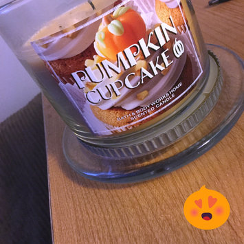 Photo of Bath & Body Works® PUMPKIN CUPCAKE 3-Wick Scented Candle uploaded by Elle W.