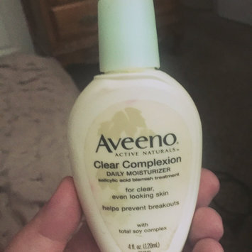 Photo of Aveeno® Clear Complexion Daily Moisturizer uploaded by Jessica G.