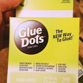 Photo of Glue Dots .1875 Mini Dot Roll300 Clear Dots uploaded by Jon T.