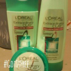 L'Oreal Hair Expertise Extraordinary Clay Mask uploaded by Marie W.