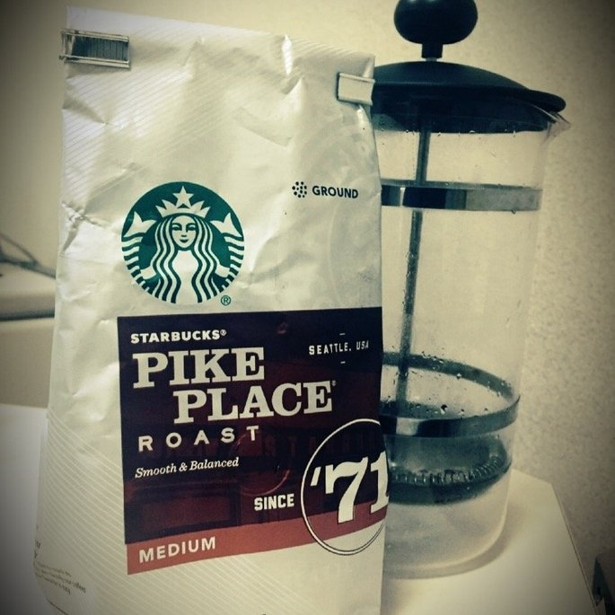 Starbucks Coffee Pike Place Medium Roast Coffee Beans uploaded by Jessye W.