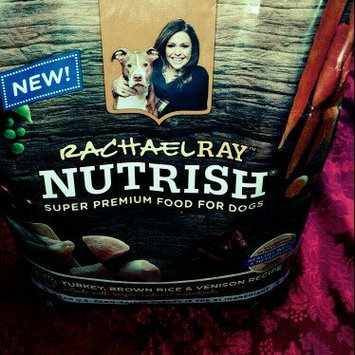 Nutrish Natural Dry Dog Food, Turkey, Brown Rice & Venison Recipe, 5.5 lbs uploaded by Mariah R.